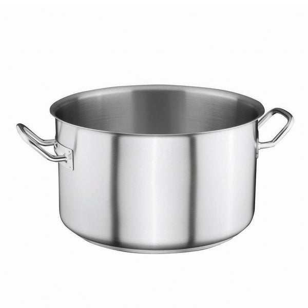 Stainless Steel Sauce Pot 29,5Ltr Ø40cm x 25cm - Uk Catering Equipments