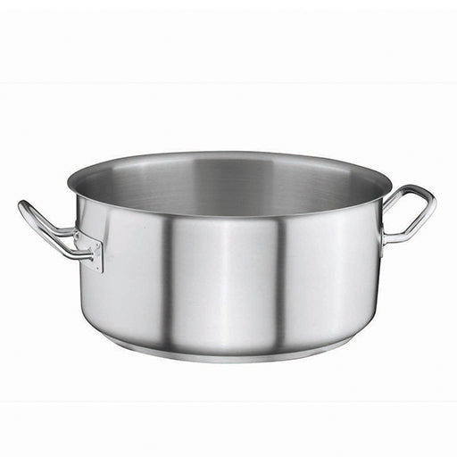 Stainless Steel Casserole Pot 2,5Ltr Ø20cm x 9cm - Uk Catering Equipments