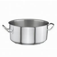 Stainless Steel Casserole Pot 4,25Ltr Ø24cm x 10,5cm - Uk Catering Equipments