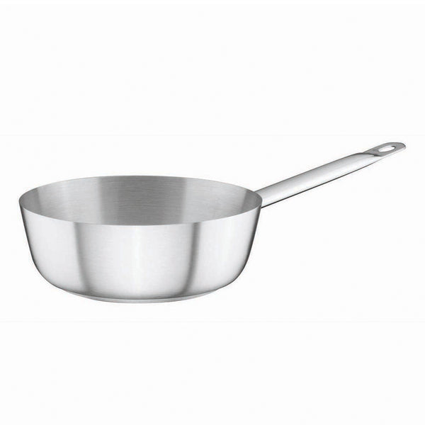 Stainless Steel Saute Pan 1Ltr Ø18cm x 6cm - Uk Catering Equipments