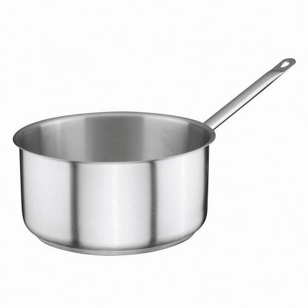 Stainless Steel Sauce Pan 4,25Ltr Ø24cm x 10,5cm - Uk Catering Equipments