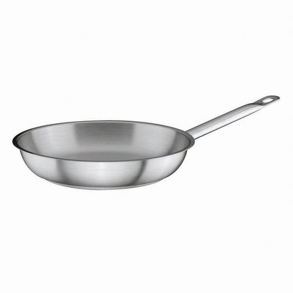 Stainless Steel Frypan Ø20cm x 4cm - Uk Catering Equipments
