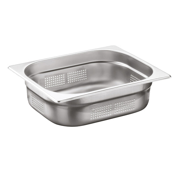 1/2 Stainless Steel Heavy Duty Perforated Gastronorm Container - Uk Catering Equipments