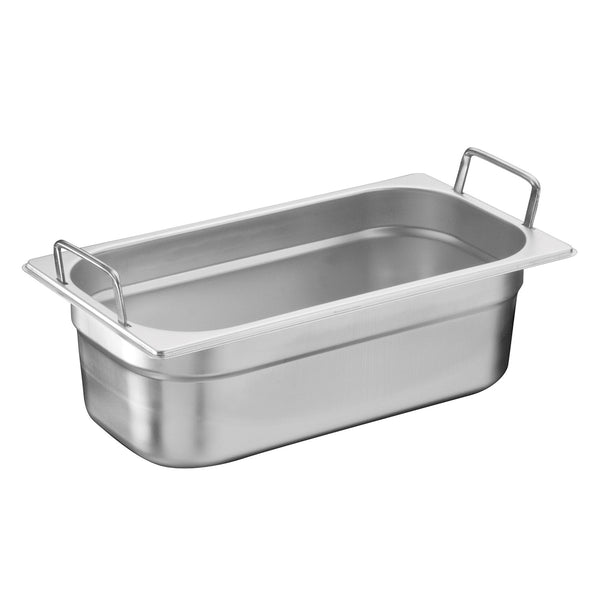 1/3 Stainless Steel Heavy Duty Gastronorm Container With Handle
