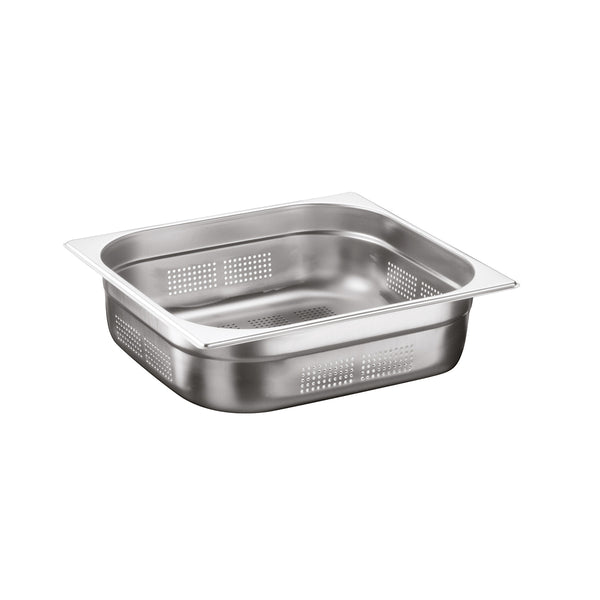 2/3 Stainless Steel Heavy Duty Perforated Gastronorm Container - Uk Catering Equipments