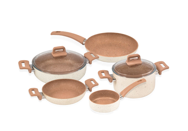 Non Stick Granite Cookware Set 7pcs