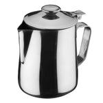 Milk and Coffee Pot With Lid