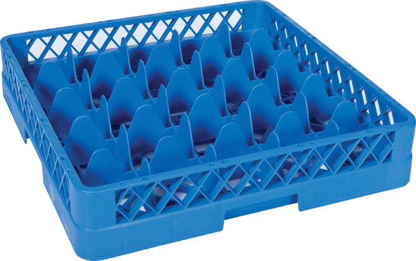 Glass Dishwasher Rack 25 Compartments - Uk Catering Equipments