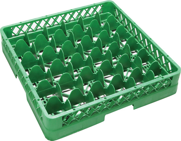 Glass Dishwasher Rack 36 Compartments