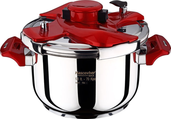Galaxy Matic Pressure Cooker 5Lt - Uk Catering Equipments