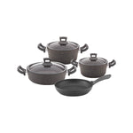 Non-Stick Granite 7 Pieces Cookware Set