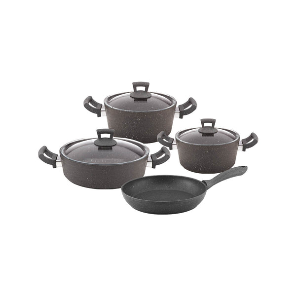 Non-Stick Granite 7 Pieces Cookware Set - Uk Catering Equipments