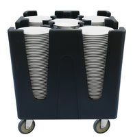Adjustable Dish Cart 4 Divider - Uk Catering Equipments