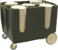 Adjustable Dish Cart 6 Divider - Uk Catering Equipments