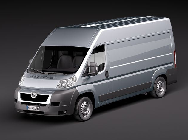 Boxer Relay Ducato Van Racking Packages
