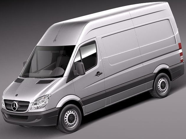 Mercedes Sprinter Van Racking Packages