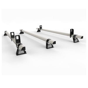 Elite aluminium roof rack bar with load stops