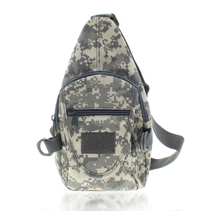 Tac Threads 12.5 x 7 ACU Camouflage Sling Backpack Bag