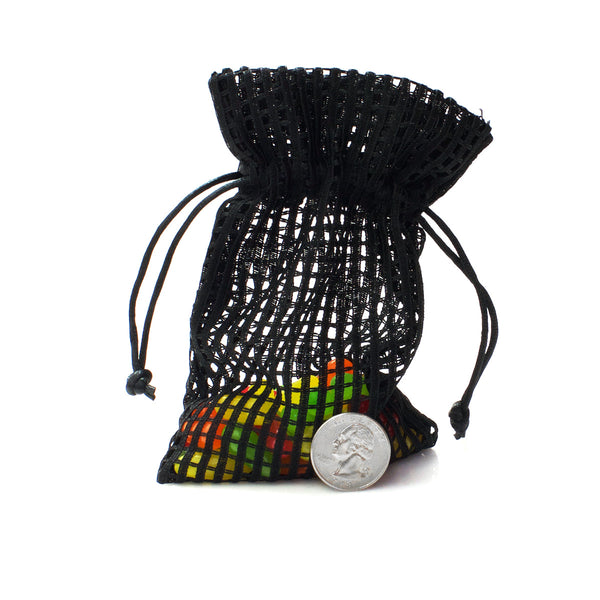 Cotton Mesh Drawstring Bags Party Favor Bags