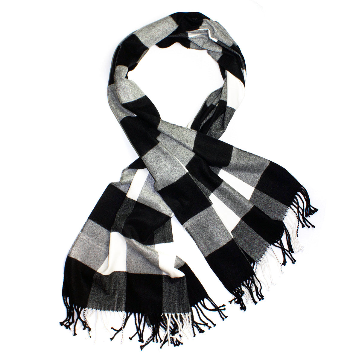 Cashmere Gingham Plaid Scarves