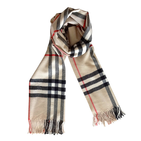 Cashmere Plaid Scarves