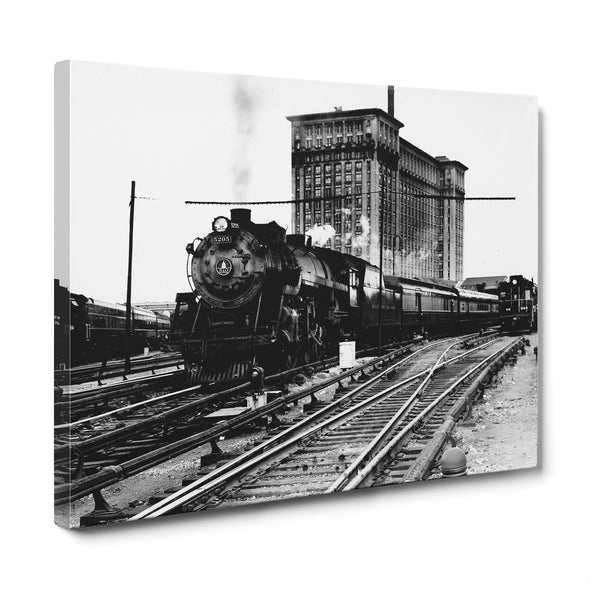 Michigan Central Station Pere Marquette Train 1915