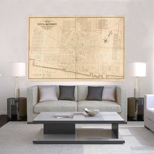 Giant Wall Maps - Detroit Prints – Tagged