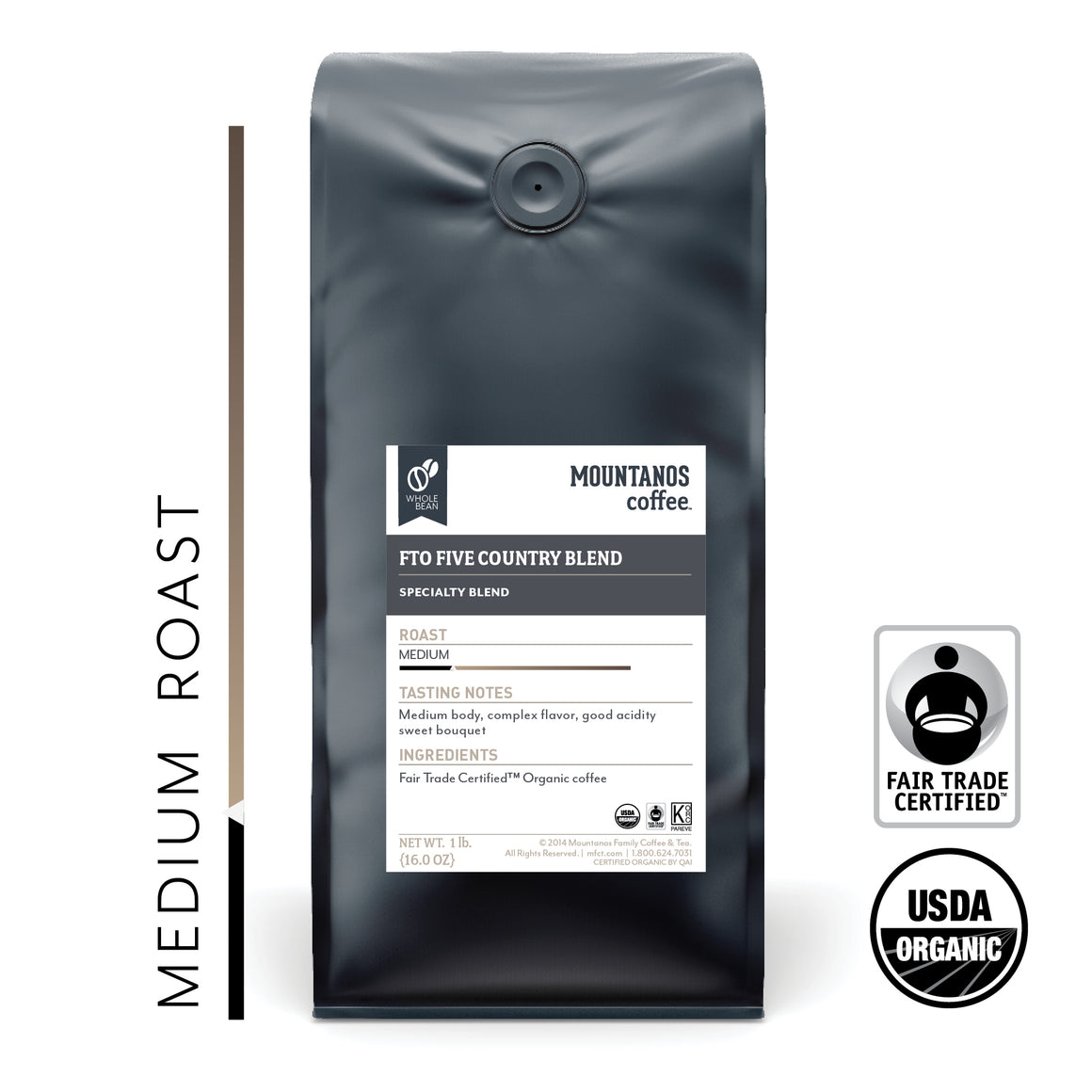 FTO Five Country Blend