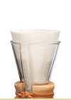 Chemex Coffee Maker Filters (Unfolded Half Moon)