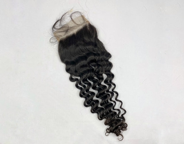 East Asian Kinky Curly Closure