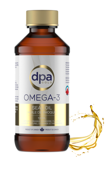 Omega-3 Seal Oil Capsules & Supplements – DPA Gold Omega-3