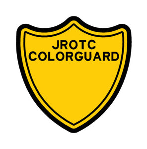 JROTC Color Guard Shield