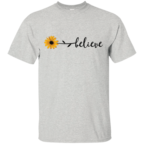 T-Shirt Unisex-Flower Believe