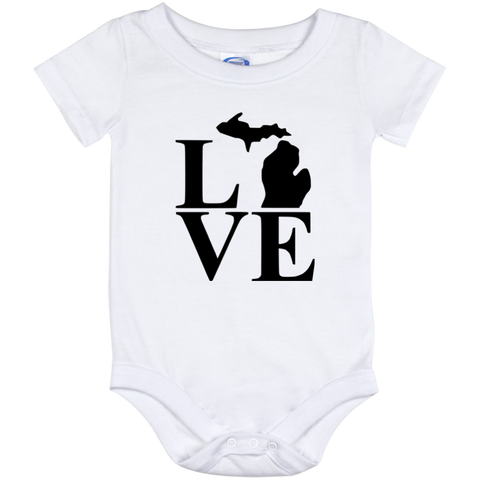 Onesie-Love Michigan