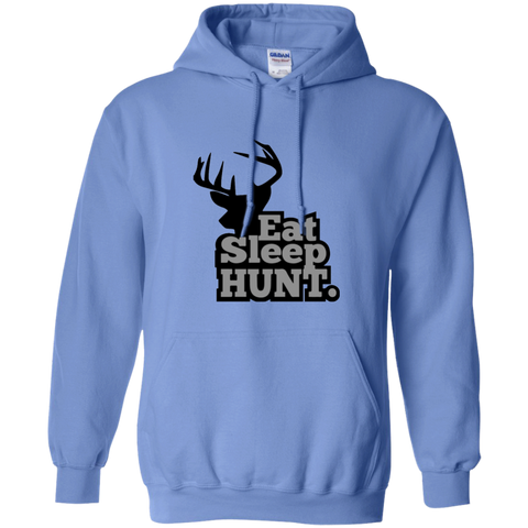 Pullover Hoodie-Eat Sleep Hunt