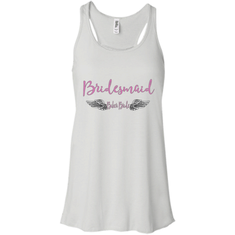Racerback- Bridesmaid Bikers Bride Collection