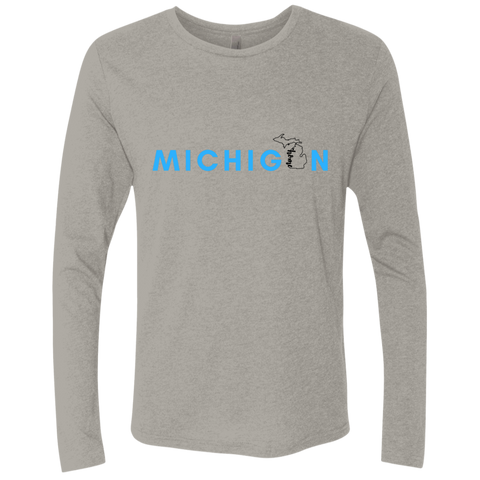 Long sleeve T-shirt- Michigan