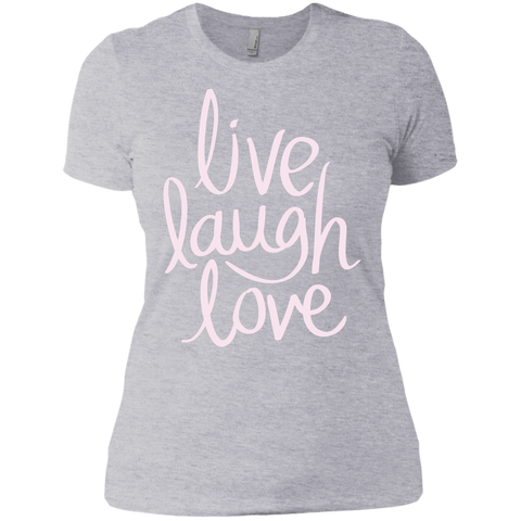 T-Shirt- Ladies Live Laugh Love