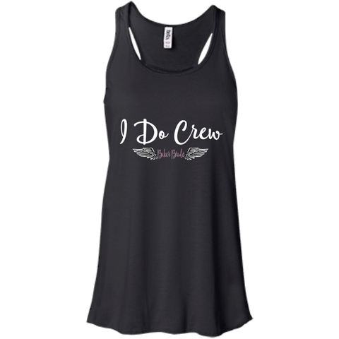 Racerback tank-I do crew Biker Bride Collection