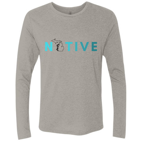 Long sleeve T-shirt- Native Michigan