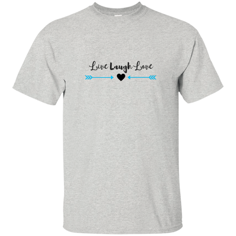 T-Shirt Unisex-Live Laugh Love