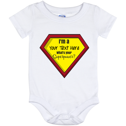 Onesie-What's Your Superpower? Personalize