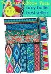 New! Amy Butler Best Seller -Designer Ribbon Pack DP-19