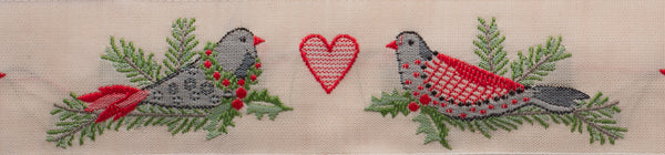 French vintage cotton ribbon limited Holiday