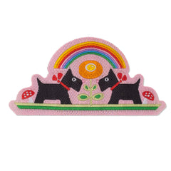 Over the RainBow Woven Patch
