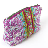 A double zippered bag pattern by