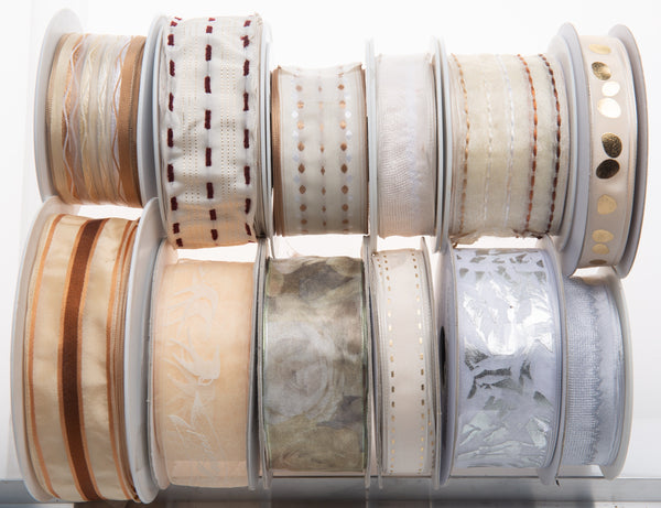 Special offer of Vintage French Wired ribbons on sale at Renaissance Ribbons