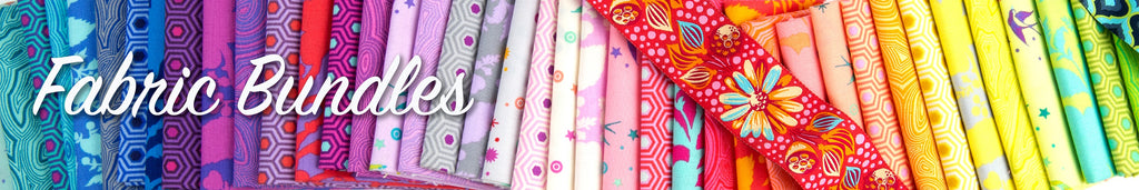 Tula Pink Fabrics, kits and bundles