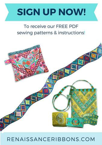 Sign up for our FREE Sewing Projects Tutorials