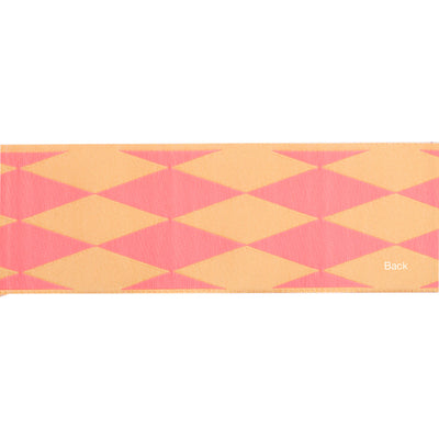 "Harlequin pink/cream - 1 1/2"" - by the yard"